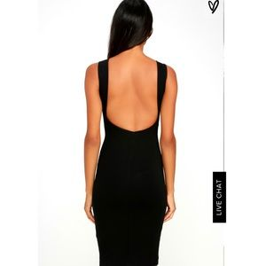 Lulus Low Back Dress